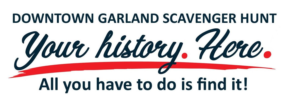 Scavenger Hunt logo and tag line